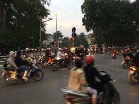 Tréfico en Hanoi