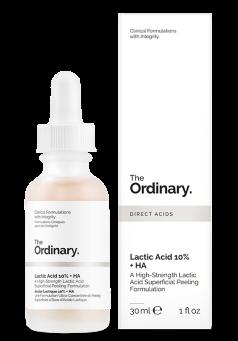 lactic acid  10% HA the ordinary